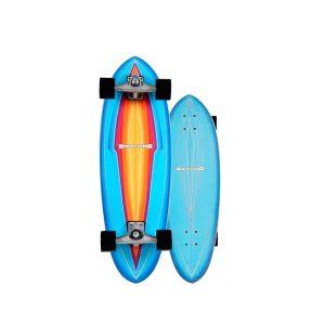 Carver Surfskate Blue Hazle